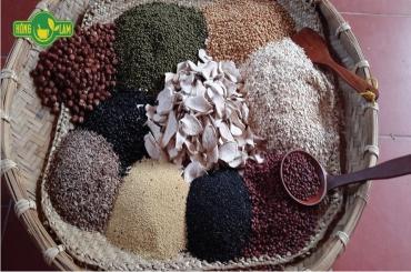 Cách làm bột ngũ cốc dinh dưỡng Hồng Lam